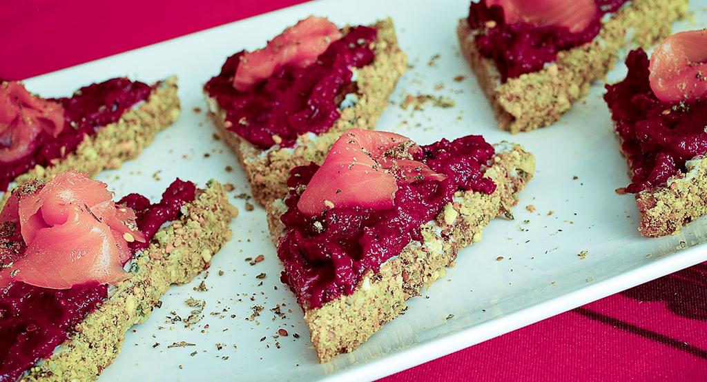 Bringing Extra Good Cheer with Beet and Blue Cheese ...