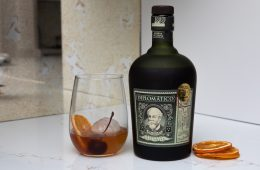 diplomatico-rum old fashioned