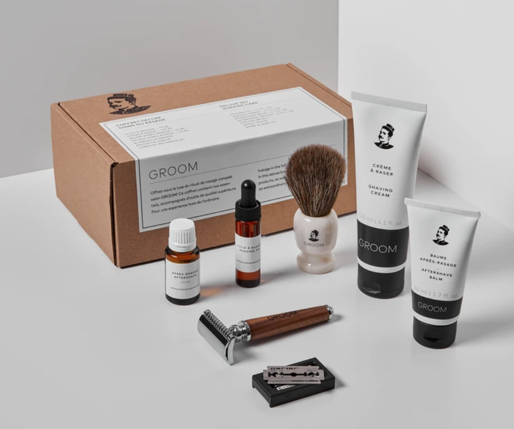 the groom industries shave kit