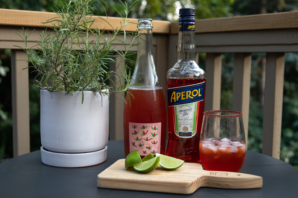 Aperol Cider Spritz