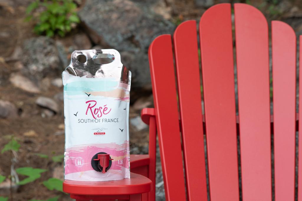 calvet- rose bag